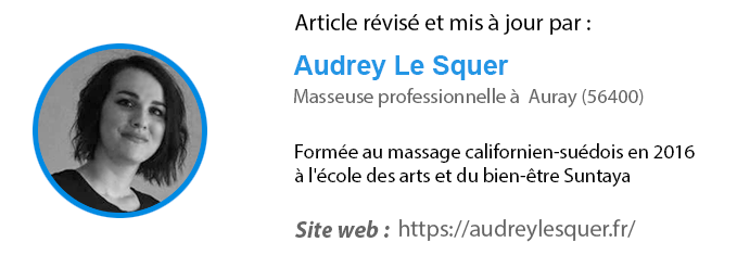 Audrey Le Squer masseuse